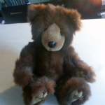 RUSS Russell Berrie Bears Grizzles Bear so pretty and soft vgc